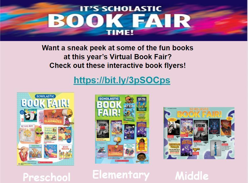 book fair flyers
