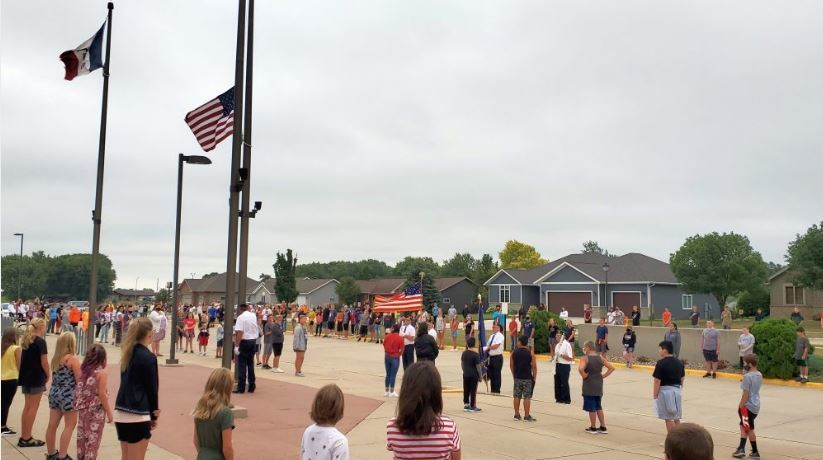 MS Flag Raising