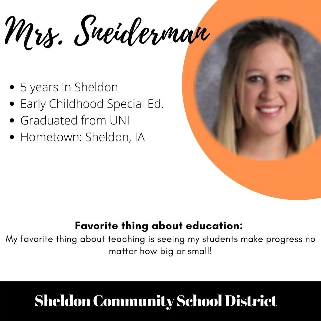 Mrs. Sneiderman